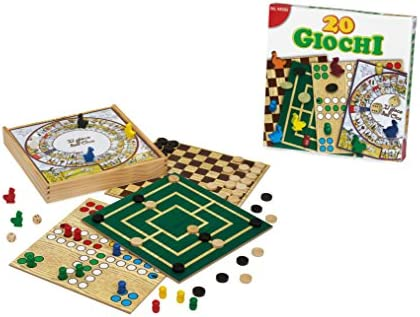 Dal Negro 55637 - Set de 20 Juegos (Contenido en Italiano) [Importado de Italia]: Amazon.es: Juguetes y juegos