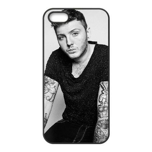 James Arthur 004 coque iPhone 5 5S cellulaire cas coque de téléphone cas téléphone cellulaire noir couvercle EOKXLLNCD24670