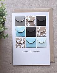 Happy Anniversary - Tiny Envelopes Card