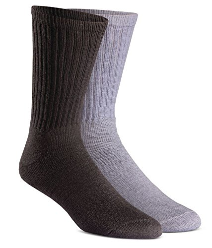 FoxRiver Rugged Crew Medium Weight Socks Value Pack (6 Pair), X-Large, Special Assortment ()