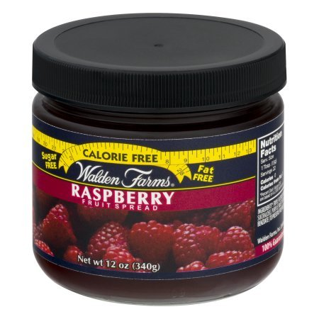 Raspberry Fruit Spread Jar 12 Ounce Free Calories by Walden Farms by Walden Farms (Image #2)'