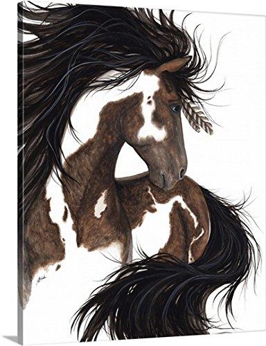 greatBIGcanvas Gallery-Wrapped Canvas entitled Ashante - Spirit Horse by AmyLyn Bihrle 19