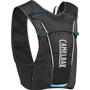 CamelBak Ultra Pro Hydration Vest, Black/Atomic Blue, Medium