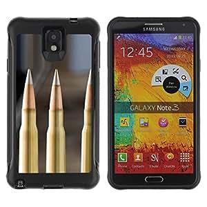 Suave TPU GEL Carcasa Funda Silicona Blando Estuche Caso de protección (para) Samsung Note 3 / CECELL Phone case / / Bullet /