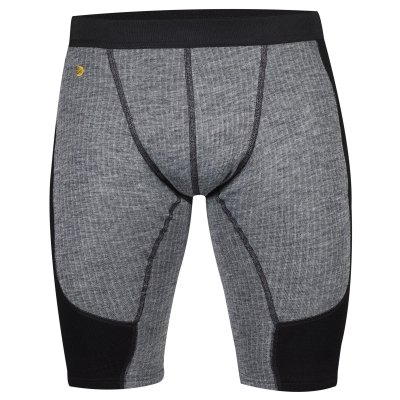 [해외]Fjallraven - 남자 Bergtagen Shortjohns, 회색, S/Fjallraven - Men`s Bergtagen Shortjohns, Grey, S