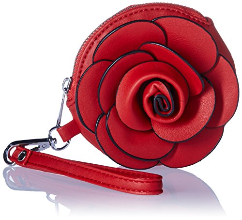 World Red Mellow Flower Coin Camellia Wristlet UdCqvwC