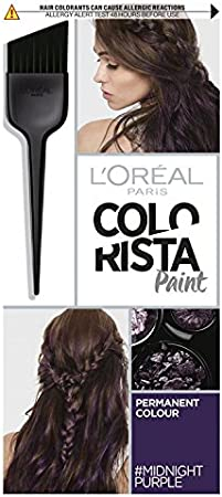 L Oreal colorista pintura Midnight morado permanente tinte de pelo
