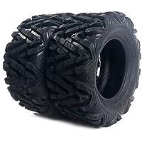 Set of 2 ATV/UTV Tires 25x10-12 Rear 6 Ply Rated Yamaha...
