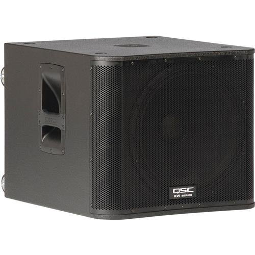 QSC KW181 1000 Watts Powered Subwoofer by QSC