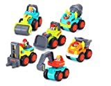 Baby Toy Cars for 18 Month+ Old Children & Kids Boys and Girls (HL-3116-6PCS)
