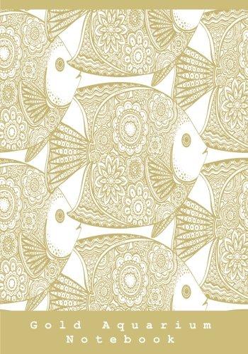Gold Aquarium Notebook