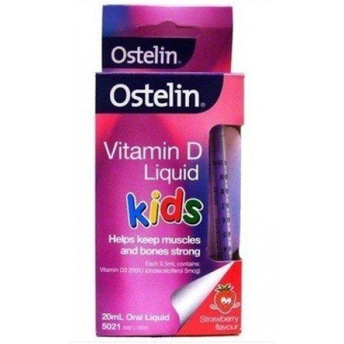 Ostelin-Vitamin D Liquid Kids 20ml Oral Liquid