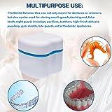 Denture Case,Denture Brush Retainer Case,Denture