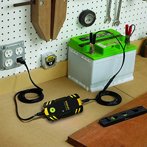 Stanley Bc209 Fully Automatic 1 5 Amp 12v Battery Charger