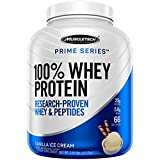 MuscleTech Prime Series 100% Whey Protein Powder, 25g Premium Protein