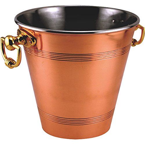 - Copper Wine and Champagne Bucket Pail - Handcrafted