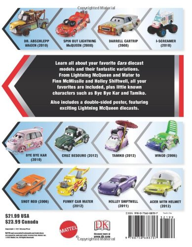 Disney Pixar Cars: Character Encyclopedia: Amazon.de: DK Publishing ...