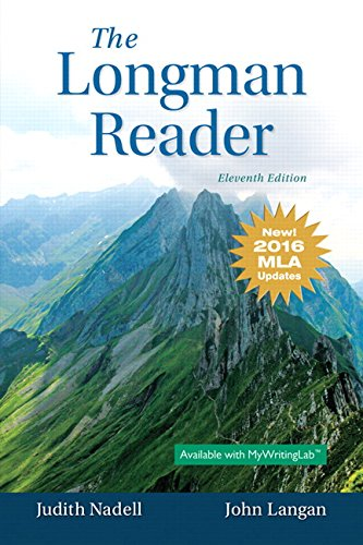 Longman Reader The MLA Update Edition 11th Edition