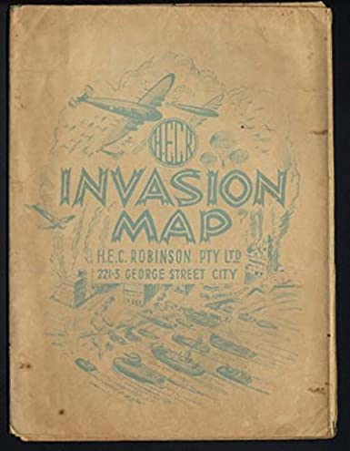 World War Ii Europe Invasion Map By H E C Robinson London 1943 44 At