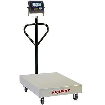 Bascula industrial Gram Precision modelo Rabbit 300 (300Kg/50g) dimensiones del plato 800x600mm