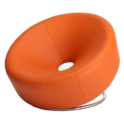 Fabulous Best Selling Modern Round Chair Orange Creativecarmelina Interior Chair Design Creativecarmelinacom