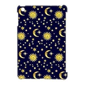Sun Moon Space Nebula Discount Personalized 3D Cell Phone Case for iPad Mini, Sun Moon Space Nebula iPad Mini 3D Cover