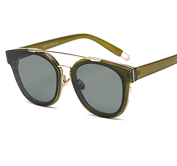 f8ceb74aa GAMT Fashion Twin-Beams Classic Sunglasses for women and men Unisex Brand  Designer Glasses Green