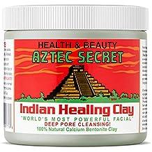 Aztec Secret - Indian Healing Clay - 1 lb. | Deep Pore Cleansing Facial & Body Mask | The Original 100% Natural Calcium Bentonite Clay – New! Version 2