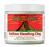 Aztec Secret - Indian Healing Clay | Deep Pore Cleansing Facial & Body Mask | The Original 100% Natural Calcium Bentonite Clay (1 Pound)