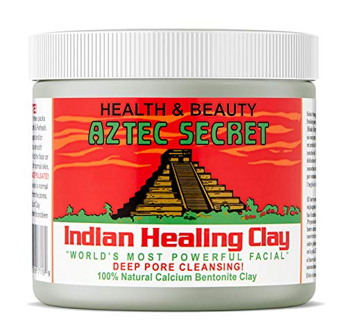 Aztec Secret - Indian Healing Clay - 1 lb. | Deep Pore Cleansing Facial & Body Mask | The Original 100% Natural Calcium Bentonite Clay – New! Version ()