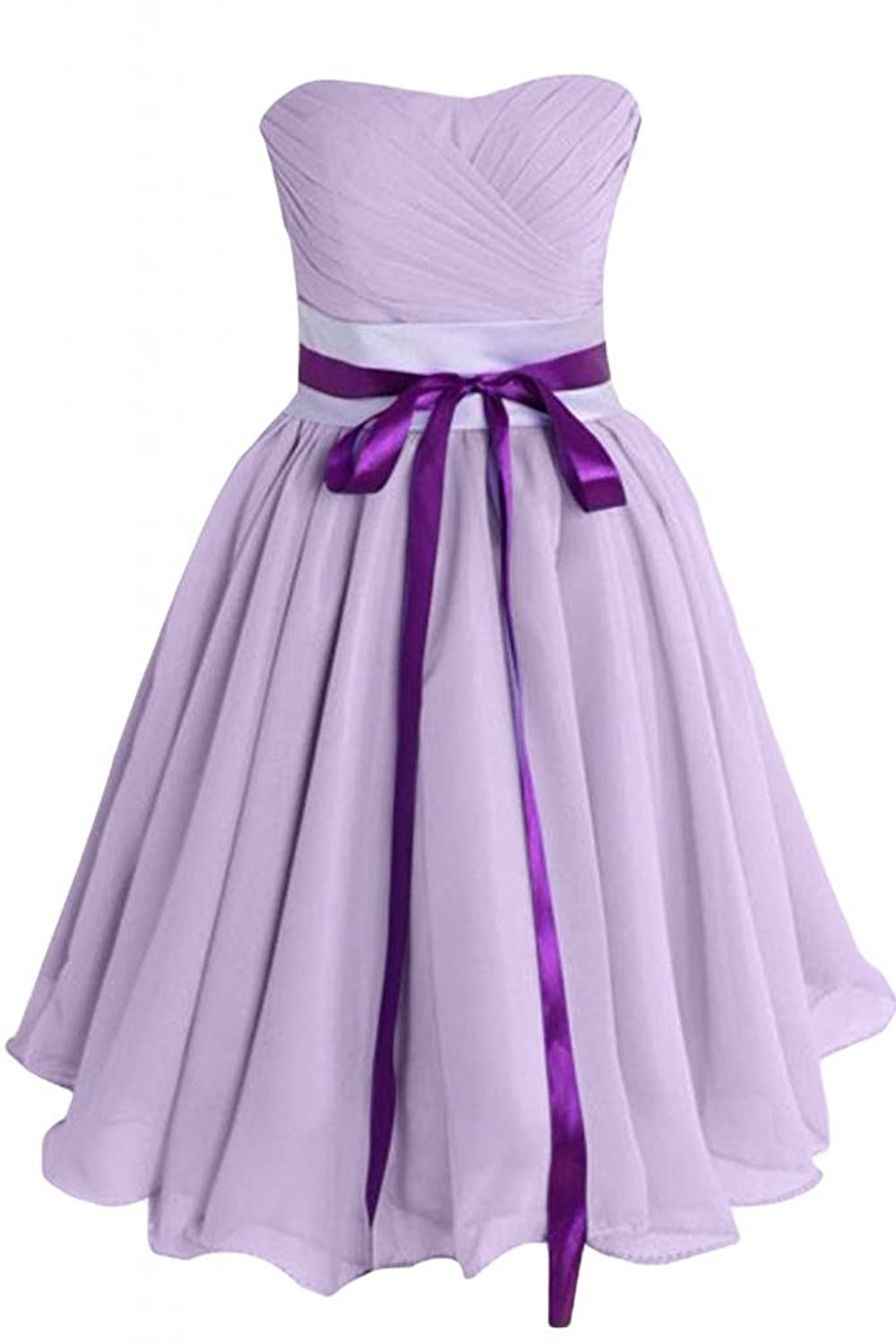 Sunvary Chic Chiffon Short A-Line Prom Dress Party Dress Cocktail Dress