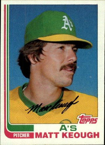 - 1982 Topps Baseball Card #87 Matt Keough