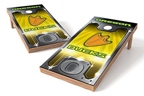 Oregon Ducks Cornhole Board Set - Plate  - Oregon Ducks Nfl Shopping Results