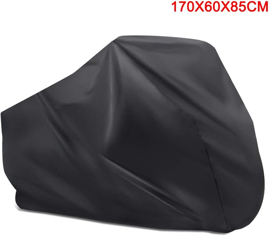Ccioy Housse de Protection imperm/éable pour v/élo 170x60x85cm Noir