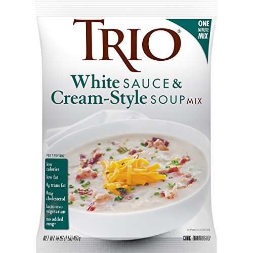 Trio White Sauce & Cream-Style Soup Mix, 16 Ounce by Trio