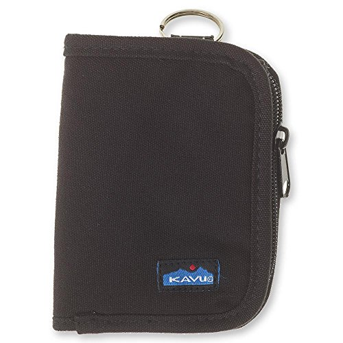 KAVU Women's Zippy Wallet Black, One Size