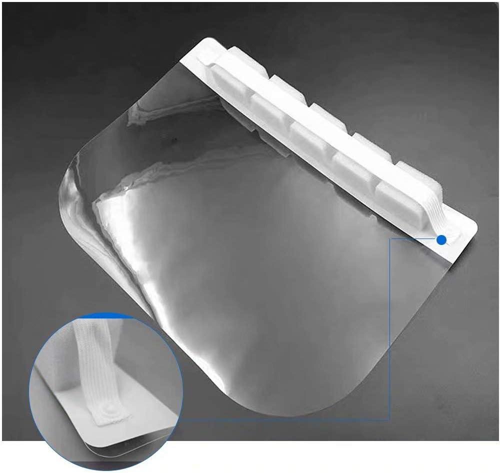 K/üche Verwenden Sie Wasser Staub Nebel Visier Pr/ävention Haushalt jianpanxia Gesichtsschutz Transparenter Gesichtsschutz f/ür Labor