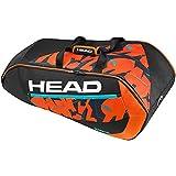 Head Radical 9R Supercombi Tennis Bag - Black/Orange