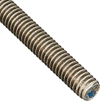 18-8 Stainless Steel Fully Threaded Rod, 5/16