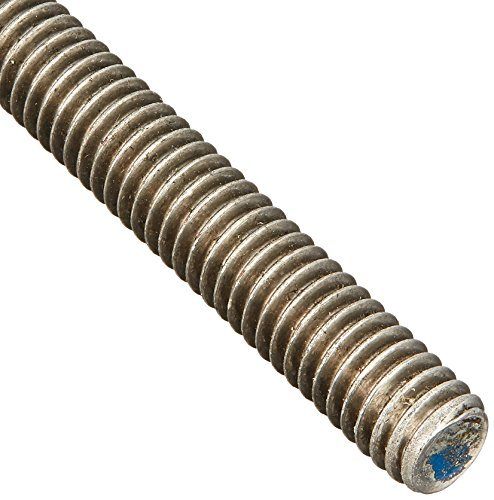 18-8 Stainless Steel Fully Threaded Rod, 5/16''-18 Thread Size, 24'' Length, Right Hand Threads by Small Parts