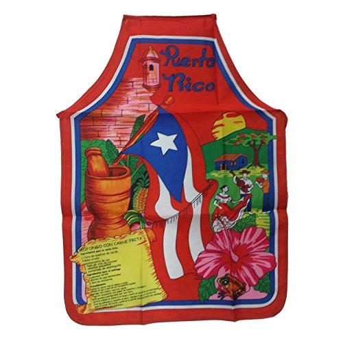 Apron Morro Puerto Rico (Delantal Mofongo Puerto Rico) -