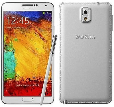 Samsung Galaxy Note 3 N900A Unlocked Cellphone, 32GB, White]()