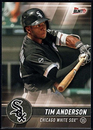 2017 Topps Bunt #186 Tim Anderson Chicago White Sox Baseball Card