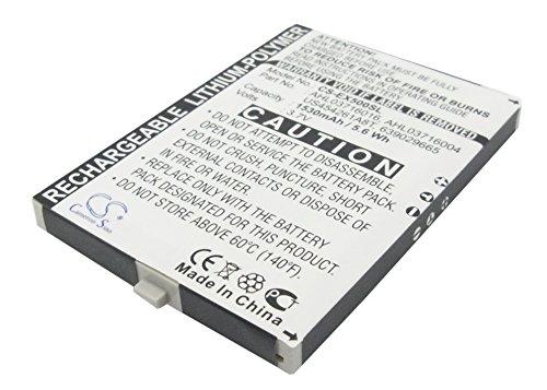 Battery2go - 1 year warranty - 3.7V Battery For Pharos GPS Phone 600E, PTL600, GPS Phone, ()
