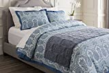 Surya Vienna Hand Crafted Cotton Runner Runner in Marine