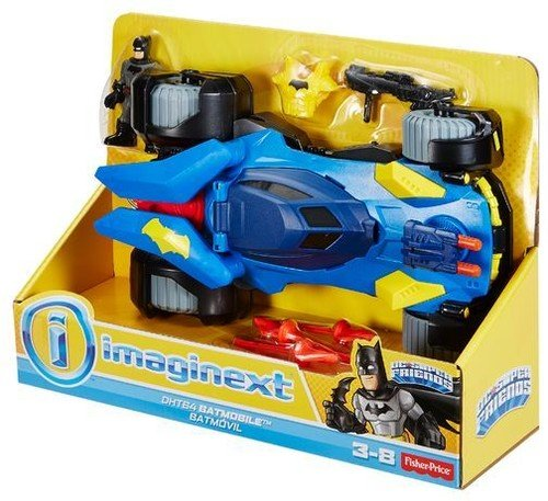 Fisher-Price Imaginext DC Super Friends, Batmobile by Fisher-Price