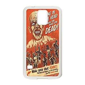 Customized Zombie Hunter S5 Case, Zombie Hunter DIY Case for Samsung Galaxy S5 I9600 at Lzzcase