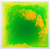 """Art3d Non-Toxic Children Play & Exercise Mat - Puzzle Play Mat for Kids, Toddlers or Baby, 12"""" X 12"""" Green-Yellow"""