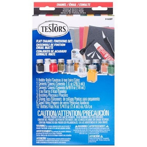 Testors Flat Finish Enamel Paint ()