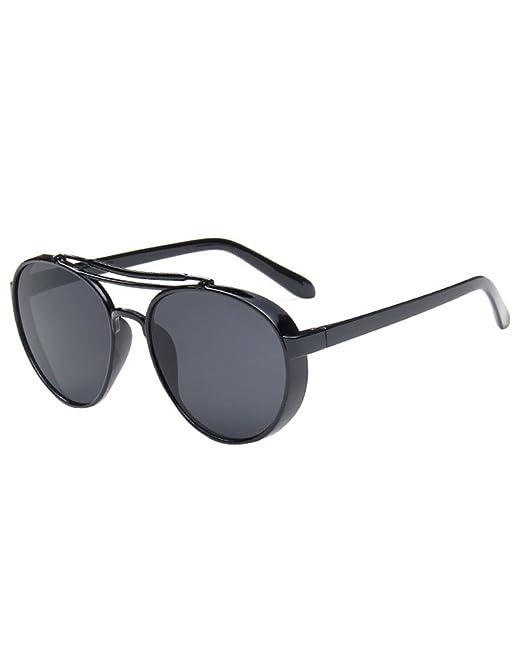MissFox Gafas de Sol Aviador Vintage para Mujer y Hombre ...